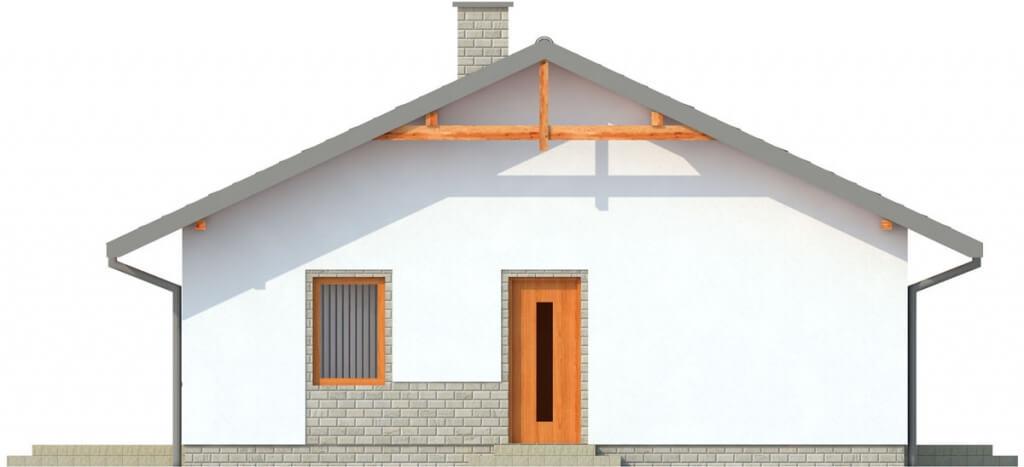 Projekt domu L-6305 - elewacja