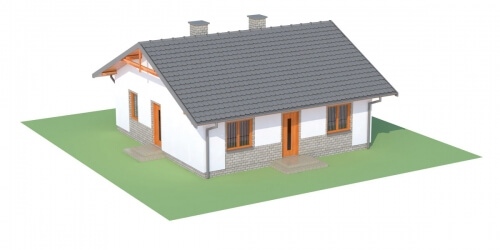 Projekt domu L-6305 - model