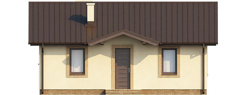 Projekt domu L-6308 - elewacja