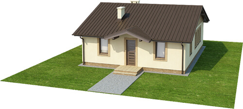Projekt domu L-6308 - model