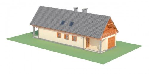 Projekt domu L-6310 - model