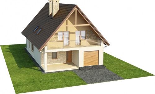 Projekt domu L-6311 - model