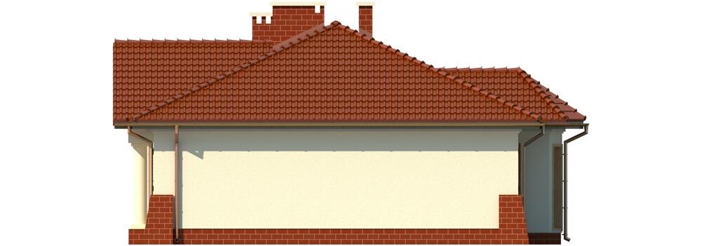 Projekt domu DM-6079 - elewacja