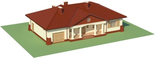 Projekt domu DM-6079 - model
