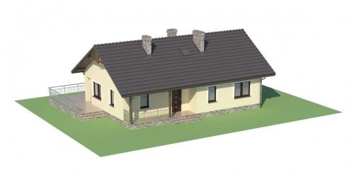 Projekt domu L-6319 - model