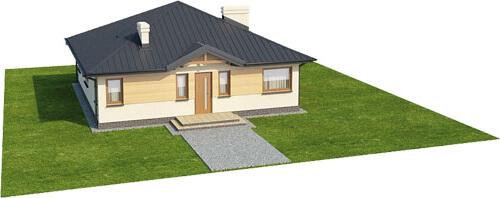 Projekt domu L-6322 - model