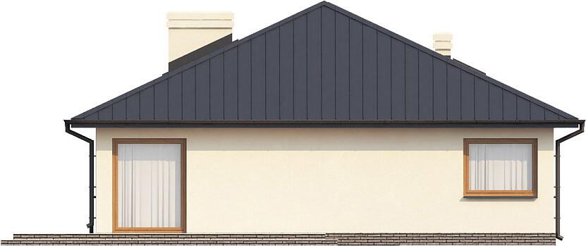 Projekt domu L-6322 - elewacja