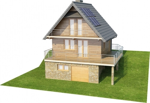 Projekt domu DM-6324 - model