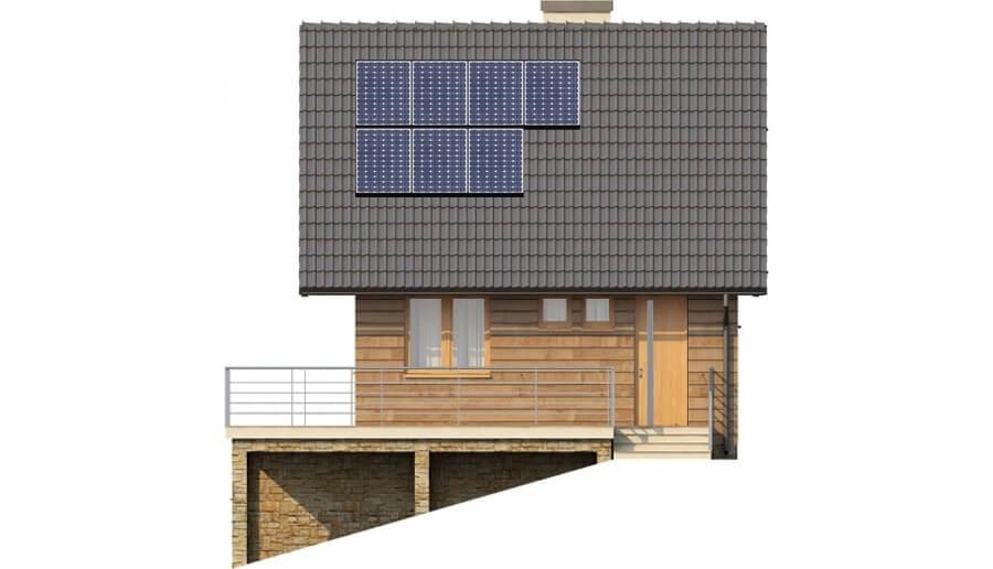 Projekt domu DM-6324 - elewacja
