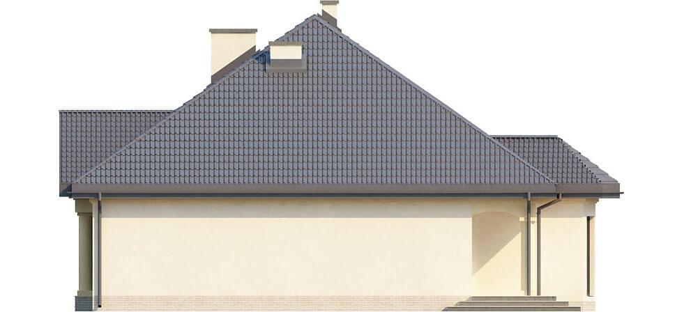 Projekt domu DM-6326 - elewacja