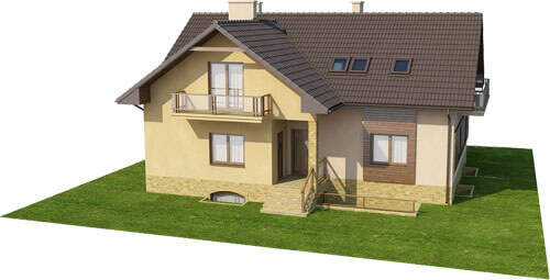 Projekt domu DM-6327 - model