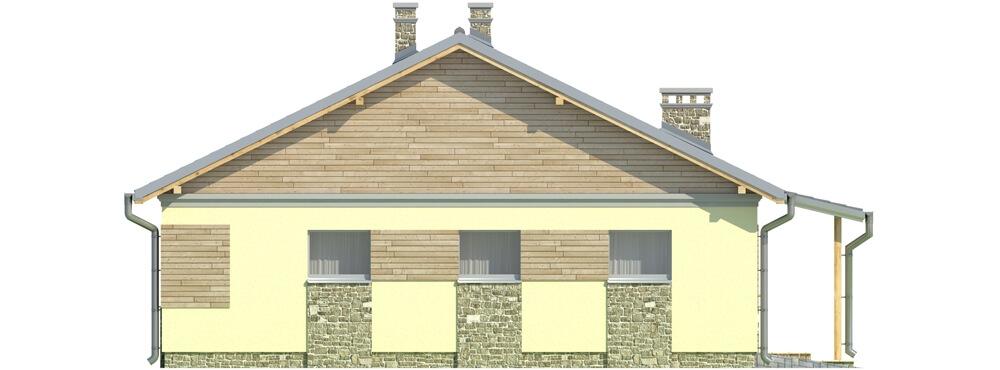 Projekt domu DM-5518 - elewacja