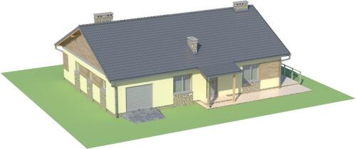 Projekt domu DM-5518 - model