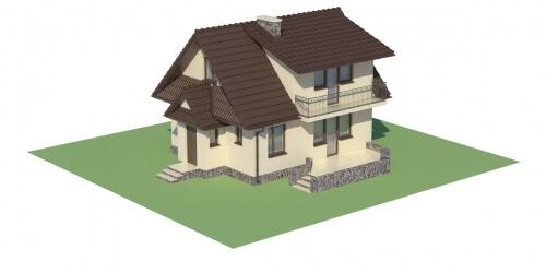 Projekt domu DM-6080 - model