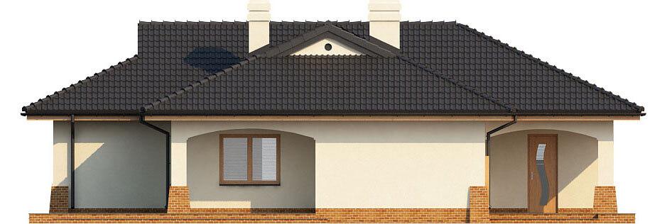 Projekt domu DM-6331 - elewacja