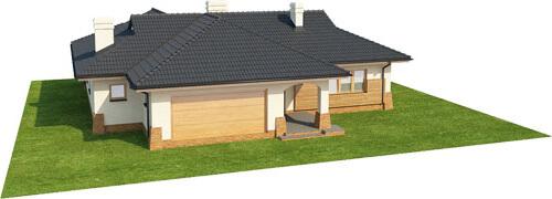 Projekt domu L-6331 - model