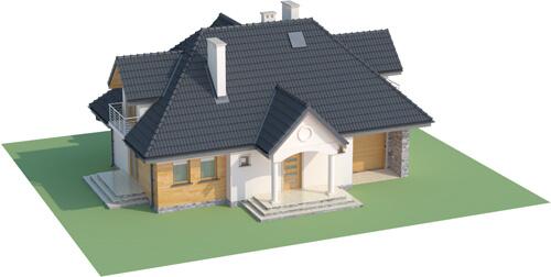 Projekt domu DM-6332 - model