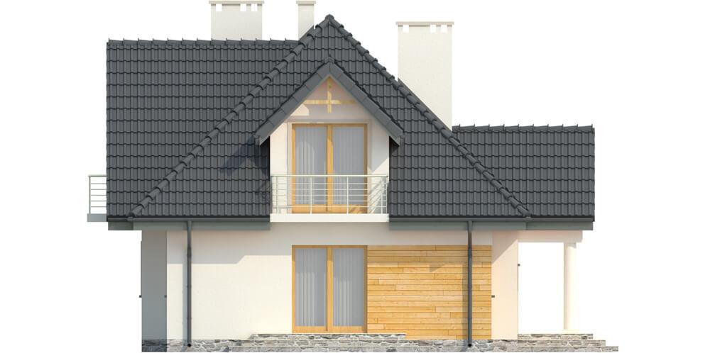 Projekt domu DM-6332 - elewacja