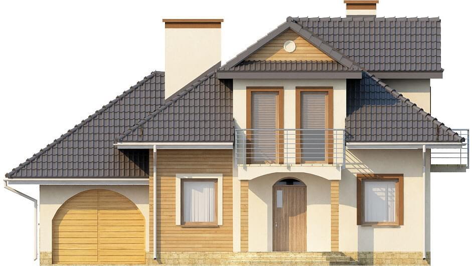 Projekt domu DM-6333 - elewacja