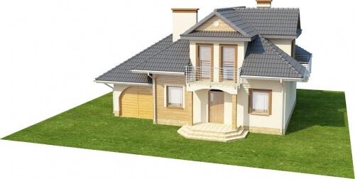 Projekt domu DM-6333 - model