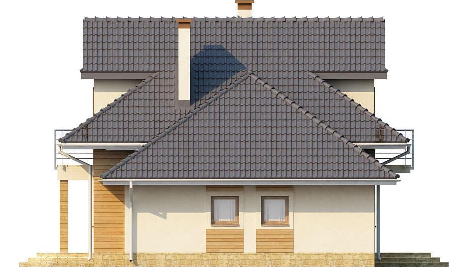 Projekt domu L-6333 - elewacja