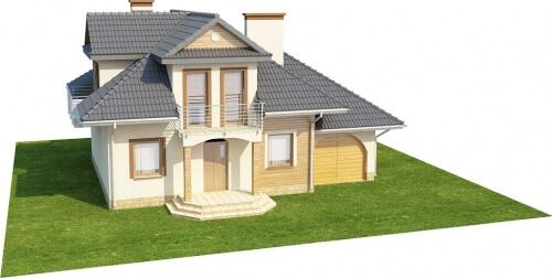 Projekt domu L-6333 - model