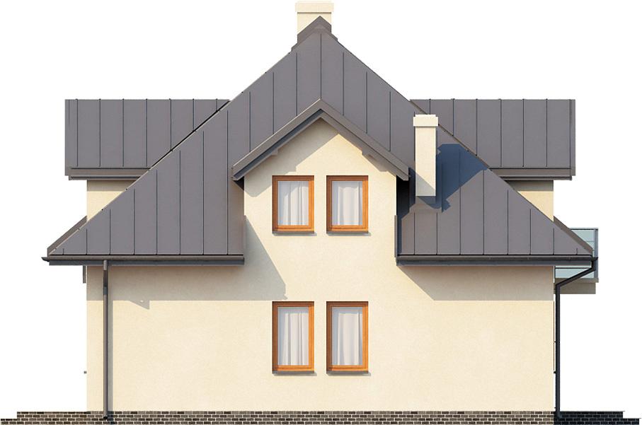 Projekt domu L-6337 - elewacja