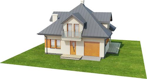 Projekt domu L-6337 - model