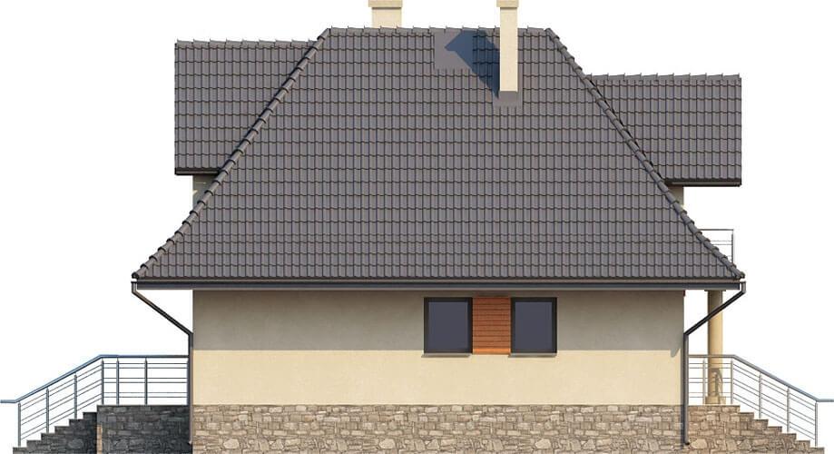 Projekt domu DM-6339 - elewacja