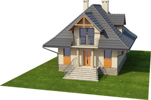 Projekt domu DM-6339 - model