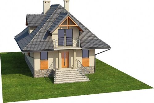 Projekt domu L-6339 - model