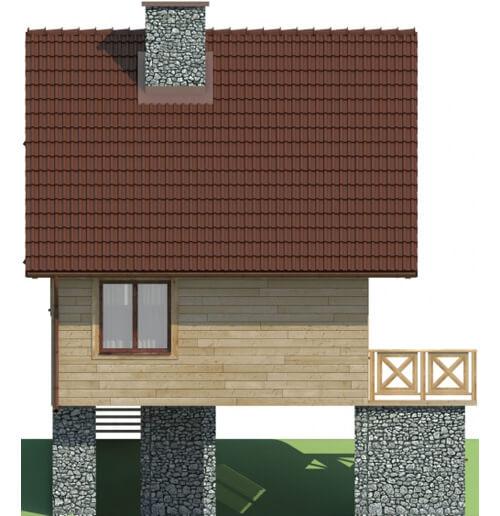 Projekt domu DM-6082 - elewacja