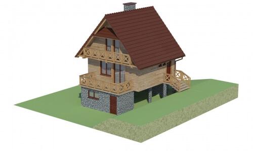 Projekt domu DM-6082 - model