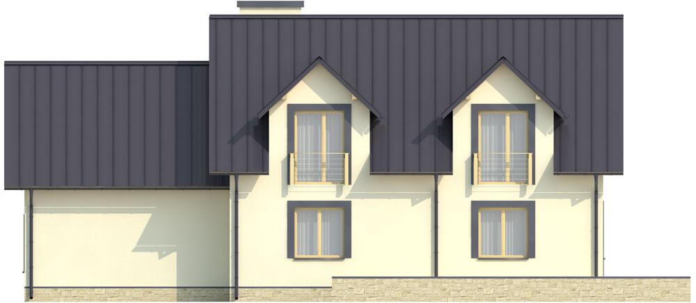 Projekt domu DM-6345 - elewacja