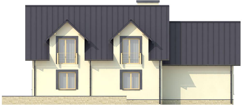 Projekt domu L-6345 - elewacja