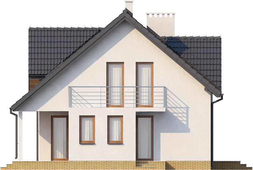 Projekt domu DM-6347 - elewacja