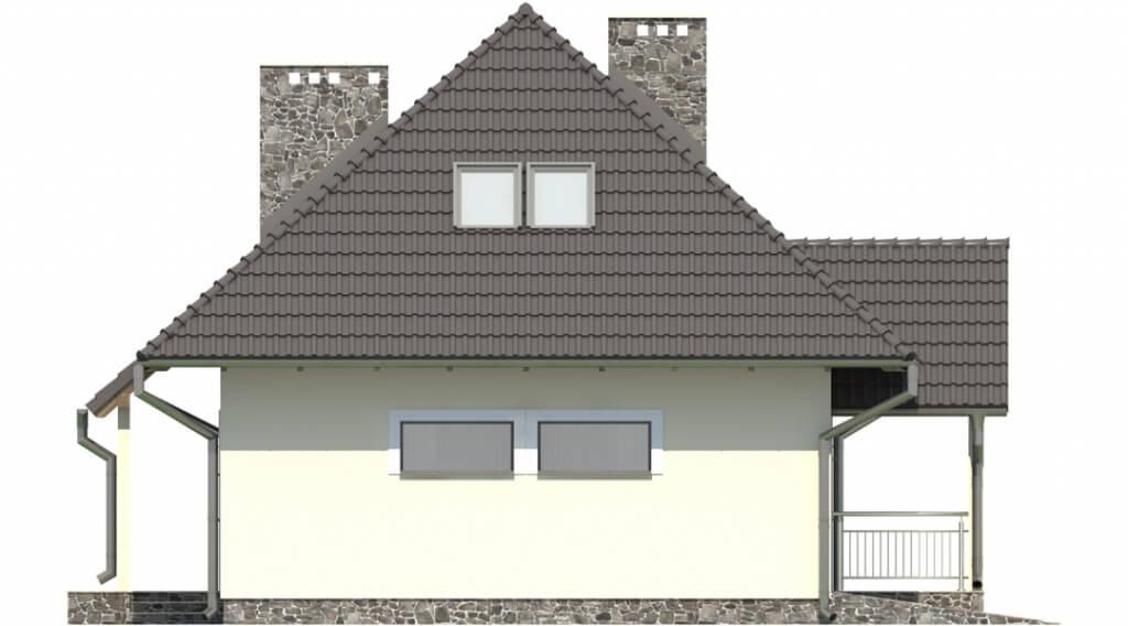 Projekt domu DM-6083 - elewacja