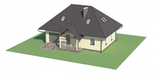 Projekt domu DM-6083 - model