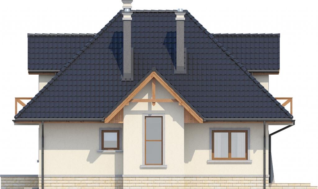 Projekt domu DM-6351 - elewacja
