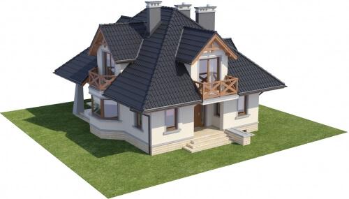 Projekt domu DM-6351 - model