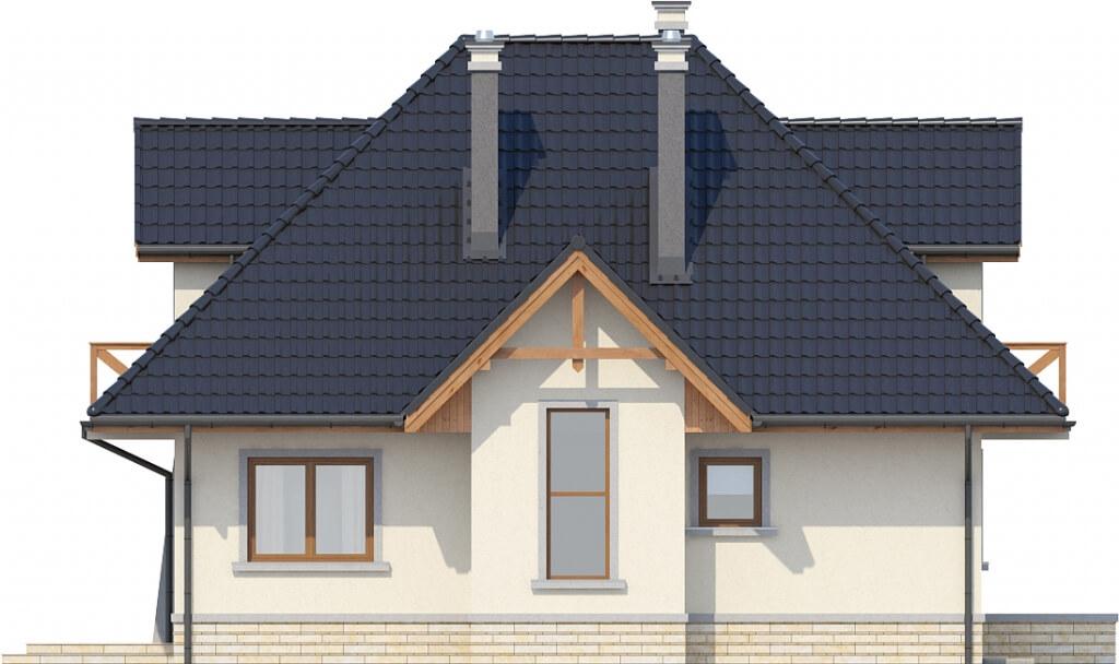Projekt domu L-6351 - elewacja