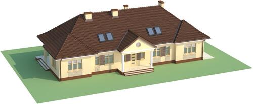 Projekt domu DM-6348 - model