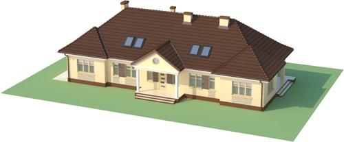 Projekt domu L-6348 - model