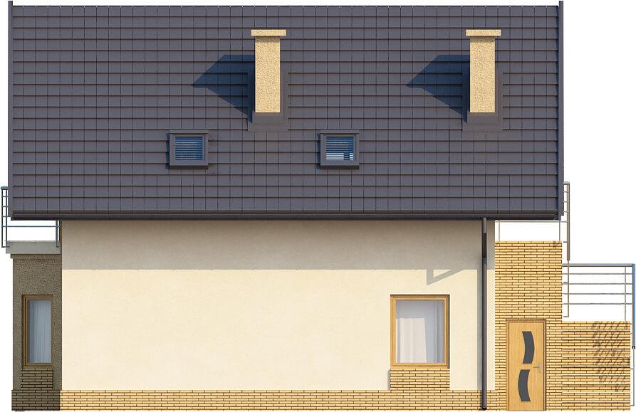 Projekt domu DM-6360 - elewacja