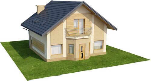 Projekt domu DM-6360 - model