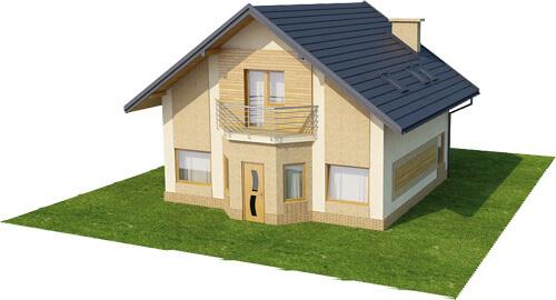 Projekt domu L-6360 - model