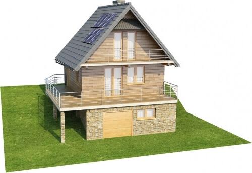 Projekt domu L-6324 - model
