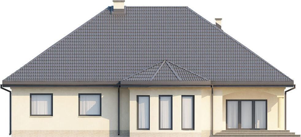 Projekt domu L-6326 - elewacja
