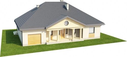 Projekt domu L-6326 - model