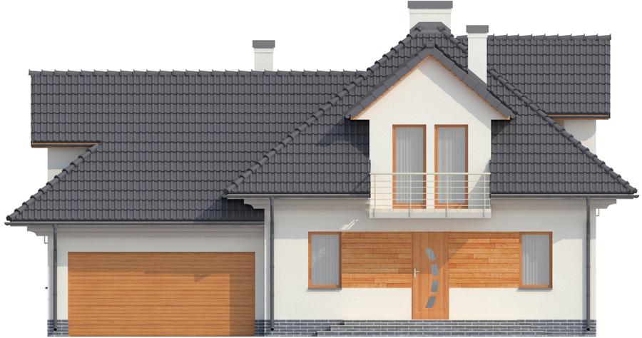 Projekt domu DM-6341 - elewacja
